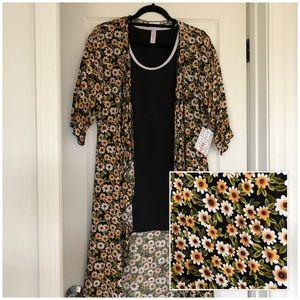 NWT - Lularoe Shirley kimono coverup (sunflower)